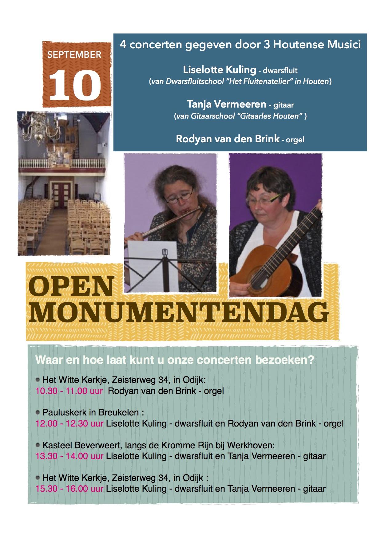 monumentendag 2016